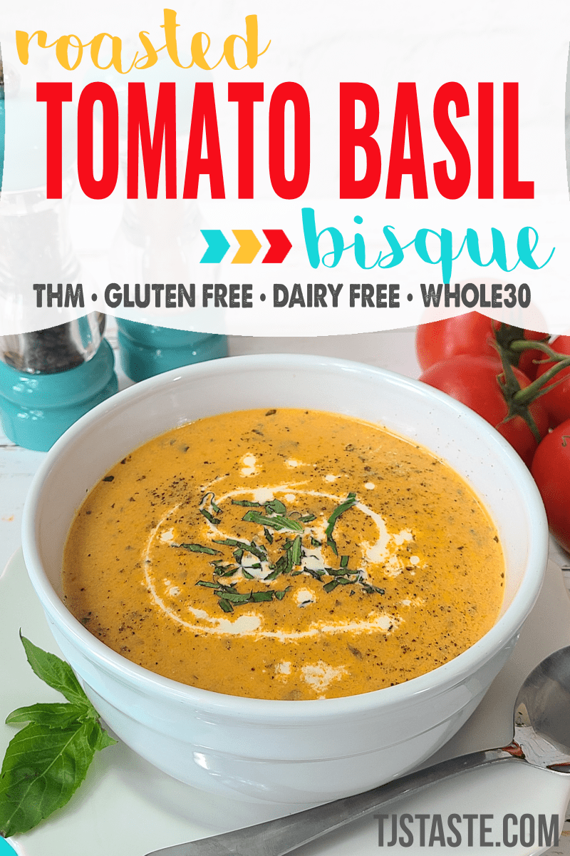 Roasted Tomato Basil Bisque