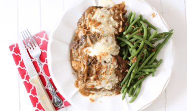 "<span class=""entry-title-primary"">French Onion Salisbury Steak</span> <span class=""entry-subtitle"">THM Friendly • Low Carb • Gluten Free • Keto</span>"
