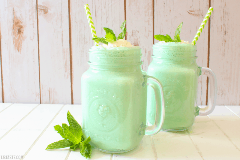 Low Carb Shamrock Shake