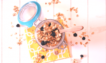 "<span class=""entry-title-primary"">Crunchy Granola</span> <span class=""entry-subtitle"">THM E or XO • Low Fat • Sugar Free</span>"
