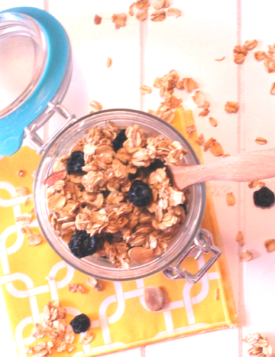 Crunchy Granola THM E or XO • Low Fat • Sugar Free