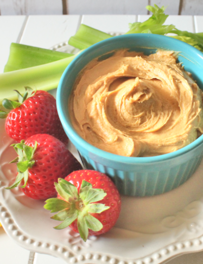 Cream Cheese Caramel Dip THM S • Low Carb • Gluten Free • Keto • Sugar Free