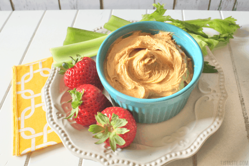 Cream Cheese Caramel Dip (THM S • Keto)