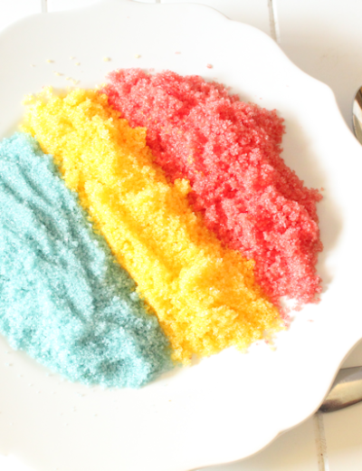 How to Make Colored Sweetener (THM FP • Keto)