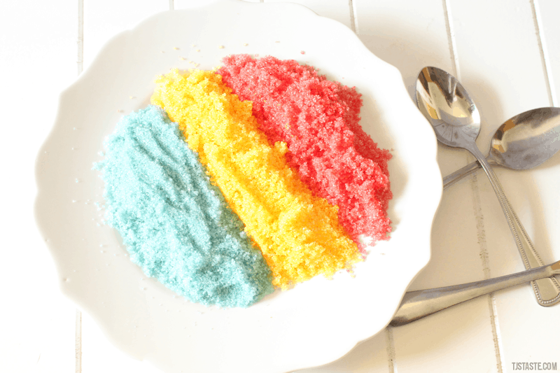 How to Make Colored Sweetener