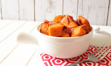 "<span class=""entry-title-primary"">Maple Roasted Sweet Potatoes with Bacon</span> <span class=""entry-subtitle"">THM • Low Fat • Sugar Free</span>"