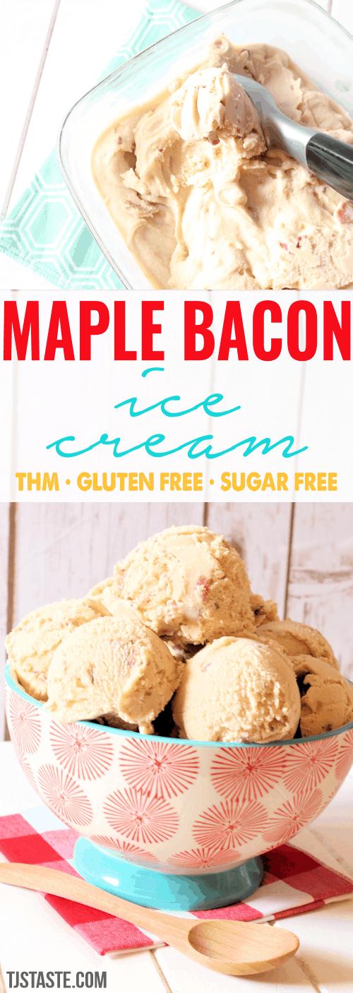 Maple Bacon Ice Cream