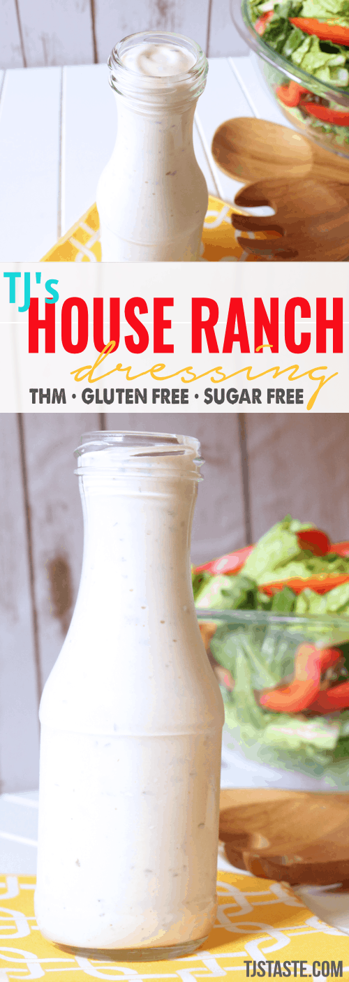 Ranch Dressing • TJ's House Ranch Dressing