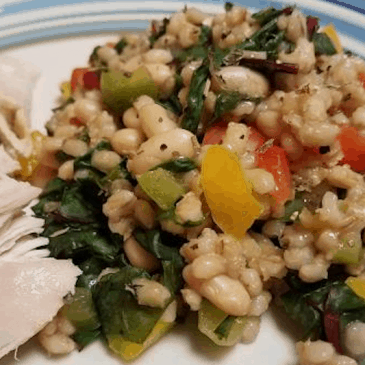 Barley, Beans, and Greens