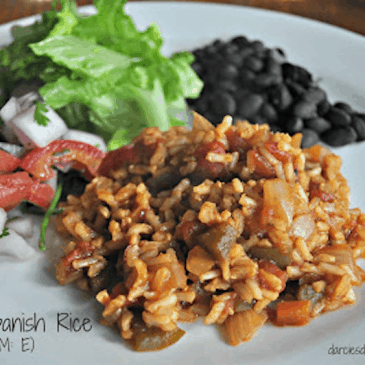 Brown Spanish Rice