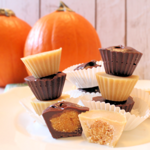 Pumpkin Candy Cups