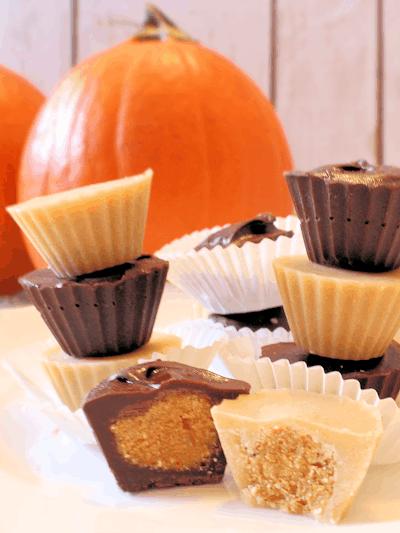 Pumpkin Candy Cups