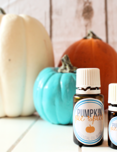 Pumpkin Pie Spice Essential Oil Blend (Plus Free Printable Bottle Labels) THM FP