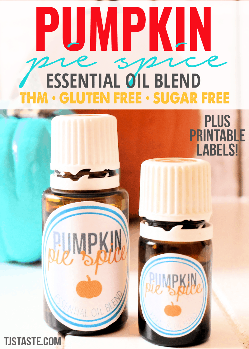 Pumpkin Pie Spice Essential Oil Blend