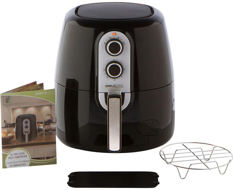 Simple Living Products Manual Air Fryer