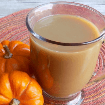 Low Carb Pumpkin Spice Latte from Working at Homeschool