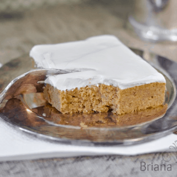 Pumpkin Bars from Briana Thomas
