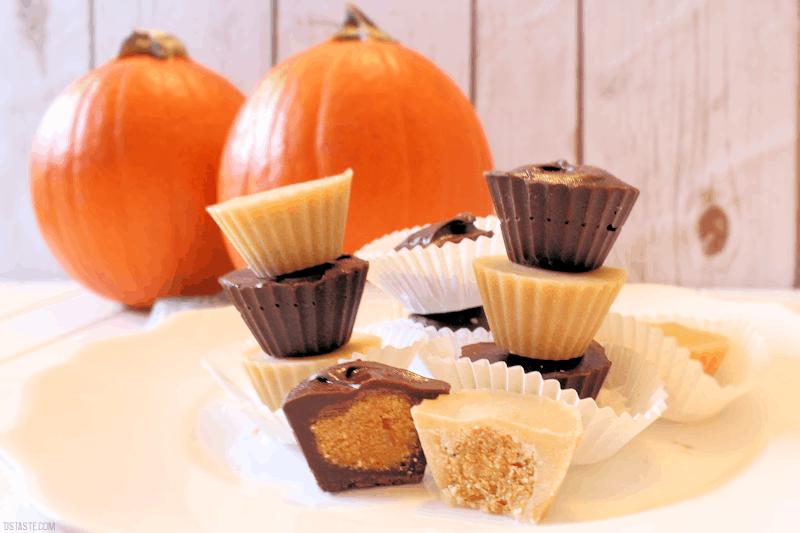 Pumpkin Candy Cups from TJ's Taste