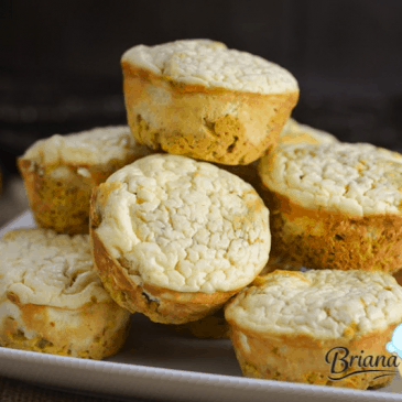 Pumpkin Cheesecake Muffins from Briana Thomas