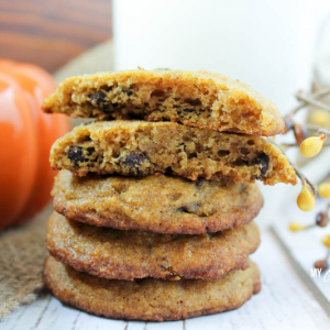 Pumpkin Chocolate Chip Cookies from My Montana Kitchen