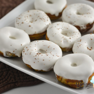 Pumpkin Donuts from Briana Thomas