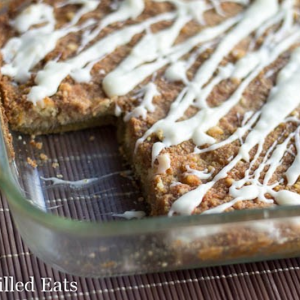 Pumpkin Pie Dump Cake from Joy Filled Eats
