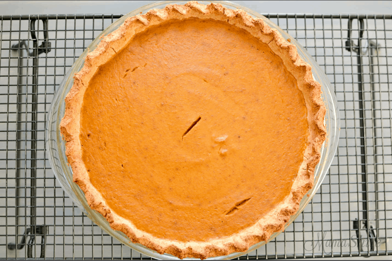 Pumpkin Pie from Mama Shire