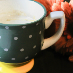 Pumpkin Spice White Hot Chocolate from Grace Filled Homemaking