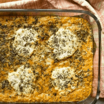 Savory Pumpkin Casserole from Low Carb Yum