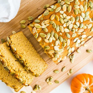 Sugar-free Pumpkin Bread from Wholesome Yum