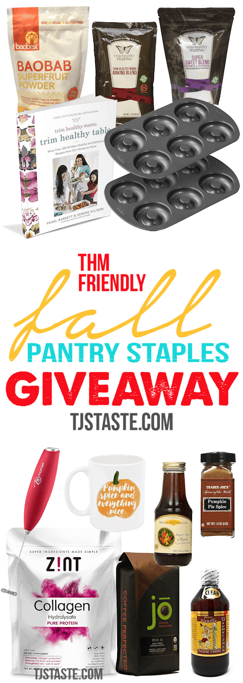 THM Fall Pantry Staples Giveaway