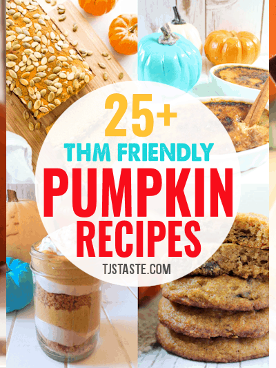 25+ THM Friendly Pumpkin Recipes