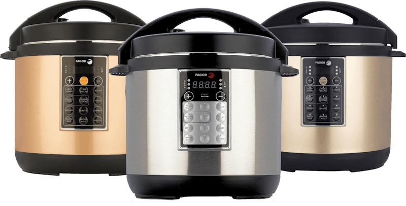FAGOR Electric Multi-Cooker Three Colors