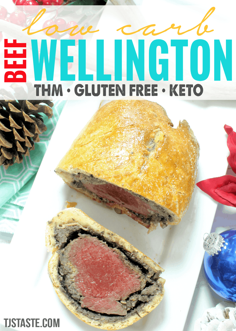 Low Carb Beef Wellington