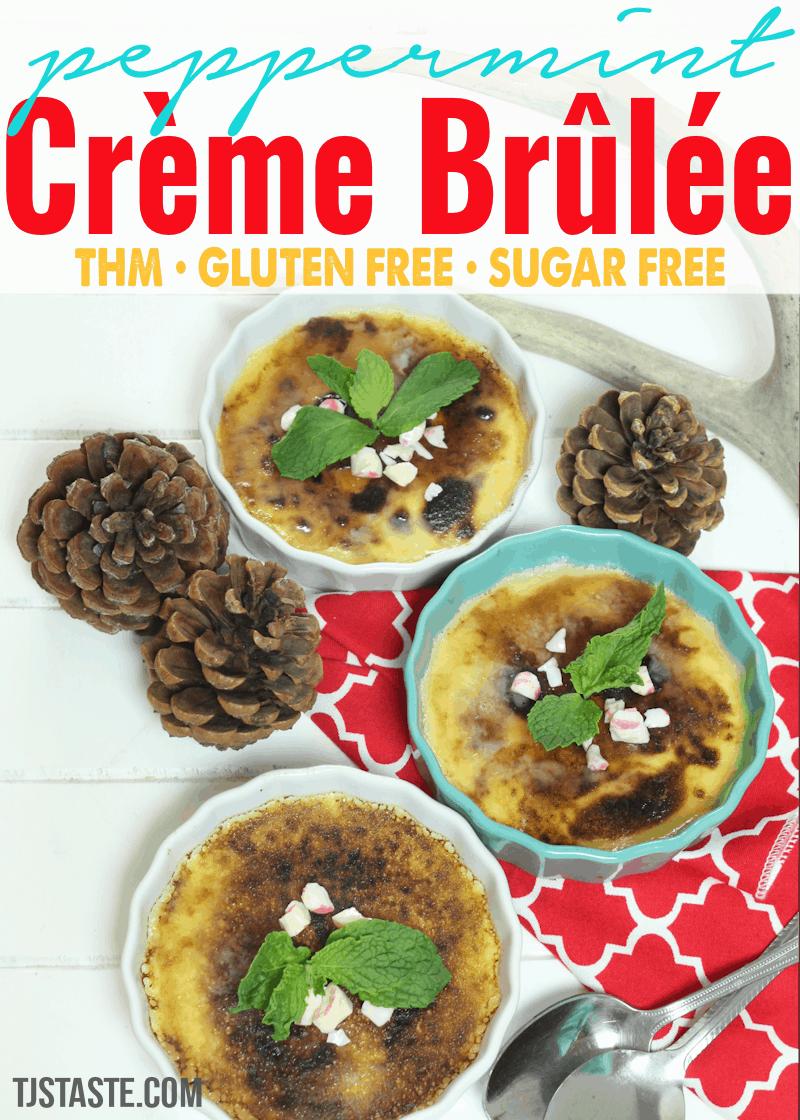 Peppermint Crème Brûlée