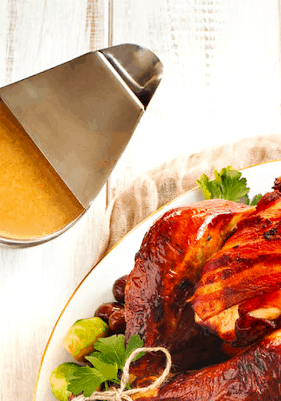The Best Turkey Gravy (THM S • Keto • GF)
