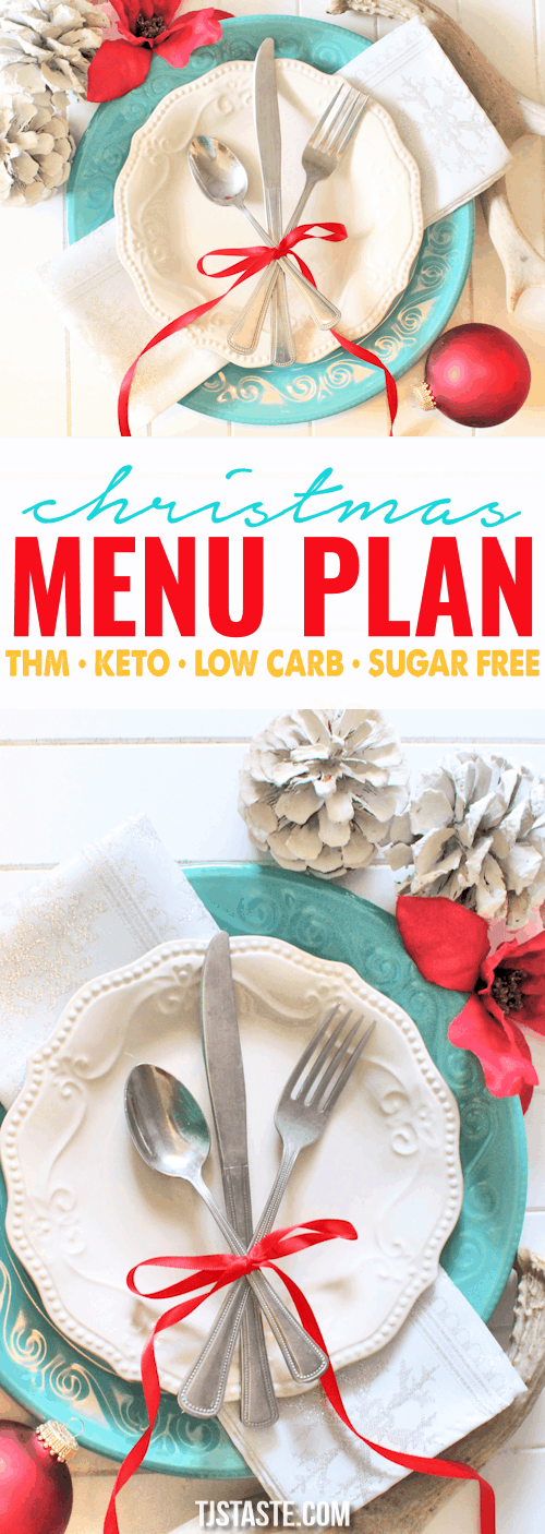 Christmas Menu Plan