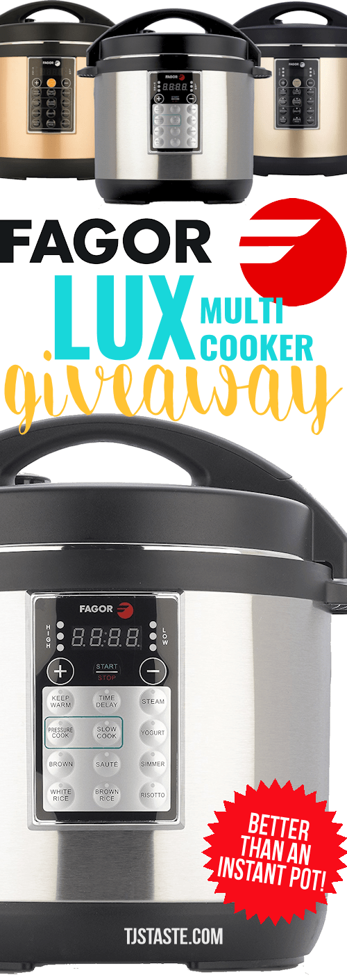 Fagor Lux Multi Cooker Giveaway