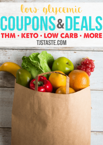 Low Glycemic Coupons and Deals