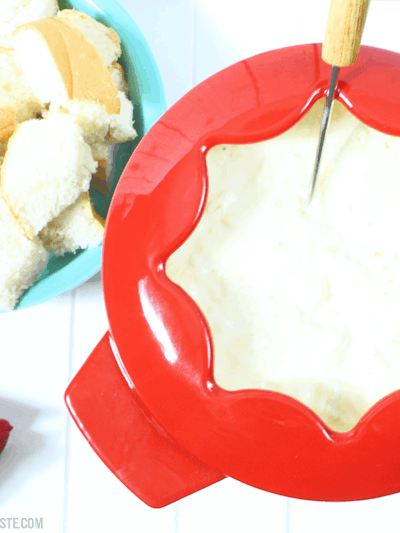 Crab and Cheese Fondue (THM S • Keto • GF)