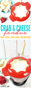Crab and Cheese Fondue