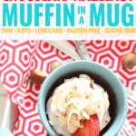 Chocolate Hazelnut Muffin in a Mug
