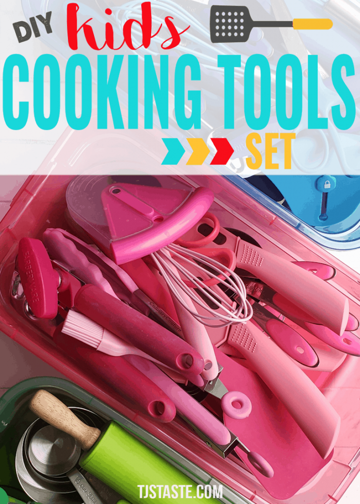 DIY Kids' Cooking Tools Set