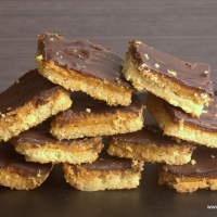 Tagalong Peanut Butter Cookie Bars