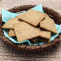 Homemade Everything Crackers
