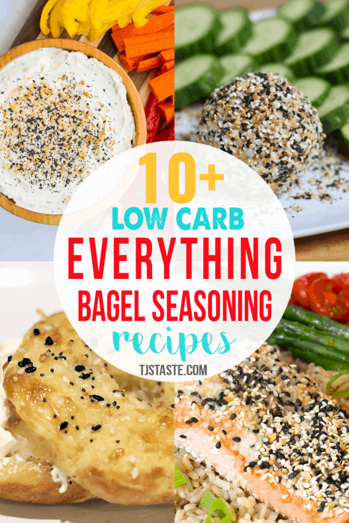 Low Carb Everything Bagel Seasoning Recipes