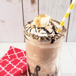 Low Carb S'Mores Mocha Shake