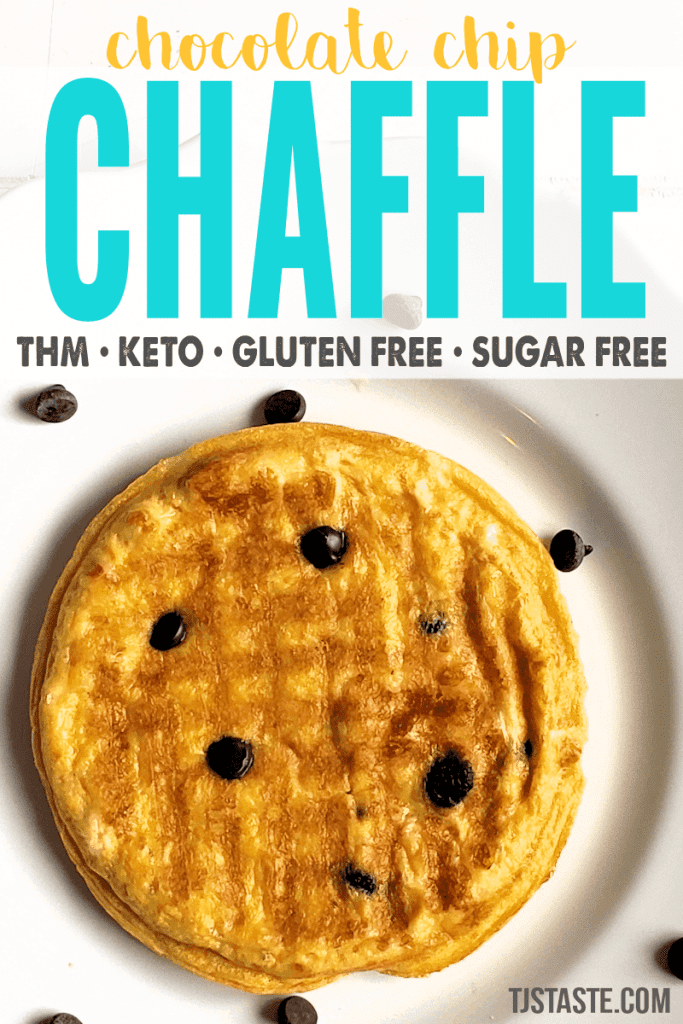 Chocolate Chip Chaffle