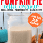 Homemade Pumpkin Pie Coffee Creamer