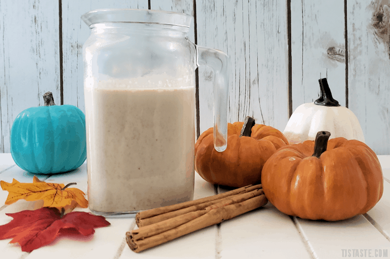 Pumpkin Pie Coffee Creamer Made With Real Pumpkin (THM FP • Keto • GF)